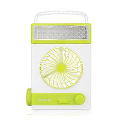2 In 1 Solar Power USB Rechargeable Outdoor Camping Fan