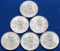 6 BU 1978 Silver 100 Pesos Mexico