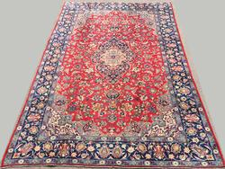 Utterly Captivating Fine 1950s Handmade Vintage Persian Isfahan