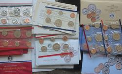 1986- 1994  Assorted US Mint Uncirculated Sets