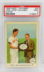 1959 Ted Williams Graded MVP Baseball Card