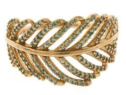 Pandora Feather Ring with Cubic Zirconias