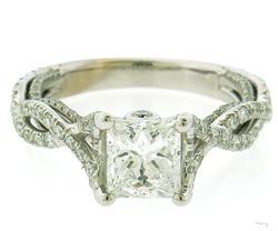 Romantic 2.01ctw Diamond Engagement Ring
