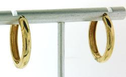 14kt Dope Hoop Earrings