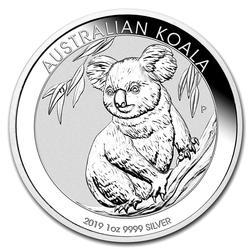2019 1oz Australian Koala Silver