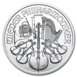 2019 1oz Austrian Philharmonic Silver
