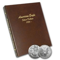 Complete Set Uncirculated Silver Eagles 1986-2018
