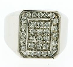 GENTS 1+ CARAT DIAMOND RING
