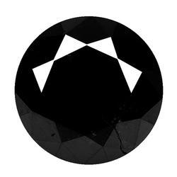 Real 1.43ct unheated black Diamond
