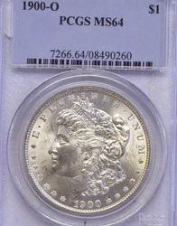 1900-O MS64 PCGS Morgan Dollar