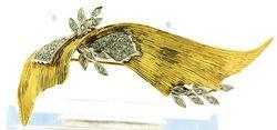Diamond & Oval Sapphire Line Bracelet at 11.0 CTW