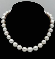 South Sea Pearl 14kt White Gold Necklace