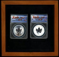 2 Flawless 2014 Canadian Maple Leafs MS70 First Release