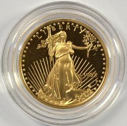 Basically flawless 1992-P Gem Cameo PRF $10 Gold Eagle