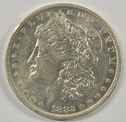 Strong near mint 1882-O/S Morgan Silver Dollar