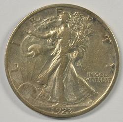 Scarce upper end 1923-S Walking Liberty Half Dollar