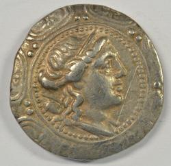 Great Roman Occupation Silver Tetradrachm, 158-150 BC