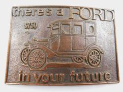 Vintage Ford Belt Buckle