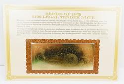 2 1869 22KT Gold Replica Notes