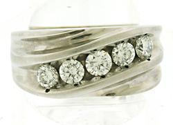 Gent's Diamond Band Ring