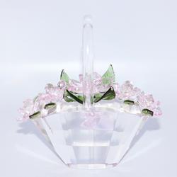Vintage Sorelle Designer Crystal Basket