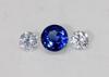 Natural Kyanite & Diamond 3 Piece  Set