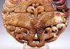 2 Sides Carved Jade Stone Pendant