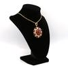 14kt Yellow Gold Ruby & Diamond Necklace