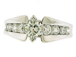 Impressive Multi Diamond Ring in 18K