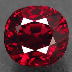 Top red flawless clarity 4.14ct Rhodolite Garnet