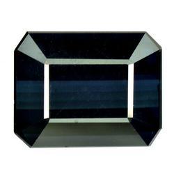 Monumental 12.88ct VVS deep water blue Tourmaline