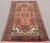 1960s Authentic Handmade Vintage Persian Gorg-Heydari
