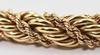 Fancy and Heavy 14K Thick Wrapped Rope Chain