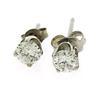 Classic Diamond Stud Earrings in 14K