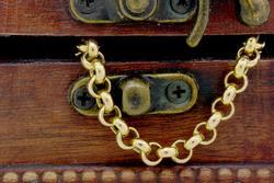Large Link 14K Gold Braclet