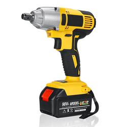98VF 12000mAh Cordless Electric Impact Wrench Drill