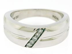 Gents Diamond band Ring