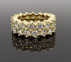 Eternity Style Diamond Ring