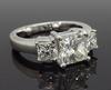 Three Stone 2.26CTW Diamond Ring