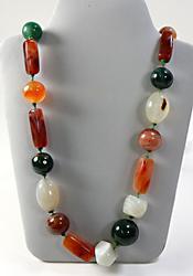 Natural Multi Gemstone Necklace