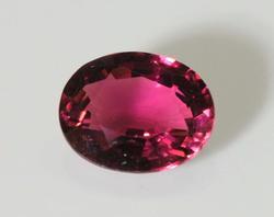 Dazzling Deep Pink Natural Tourmaline - 2.82 cts.
