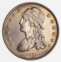 1831 Capped Bust Quarter