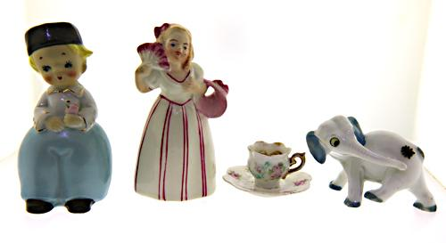 Lot of 4 Mis Collectibles