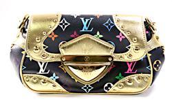 Louis Vuitton Multi Color Clutch Bag