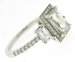 Masterpiece Modern Diamond Engagement Ring
