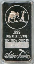 Special SilverTowne pure .999 10 0z silver bar. Sealed