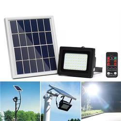 400LM 54 LED Solar Panel Flood Light Spotlight Lamp