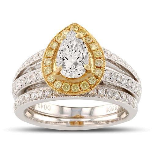 Diamond Ring in 18KT Gold