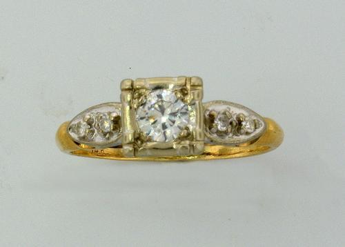.25 CTW Diamond 14KT Gold Ring