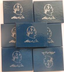 7 1982 D Washington Uncirculated 250 Anniversary Halves With Boxs & Papers